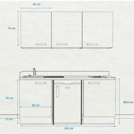Kitchenette k28 - 180 cm