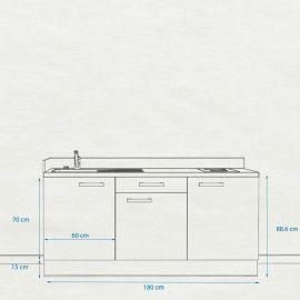 Kitchenette k34 - 180 cm