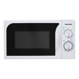Micro-ondes GLEM avec option grill, Silver