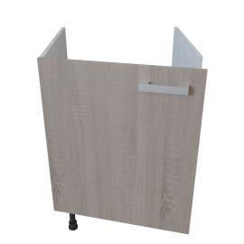 Meuble bas sous évier 1 porte - 60 cm - BARDOLINO