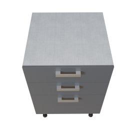 Meuble bas 1 casserolier + 2 tiroirs - 60 cm - MACADAM