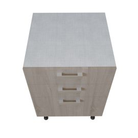 Meuble bas 1 casserolier + 2 tiroirs - 60 cm -BARDOLINIO