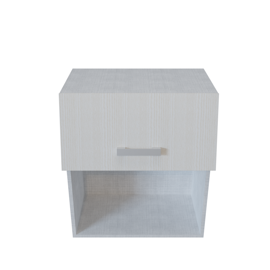 Etagere Dessus Micro Onde meuble haut micro ondes 1 porte relevable + 1 niche - 60 cm