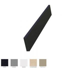 Plan de travail avec cuve Planiquartz 120cm - Coloris CROMO